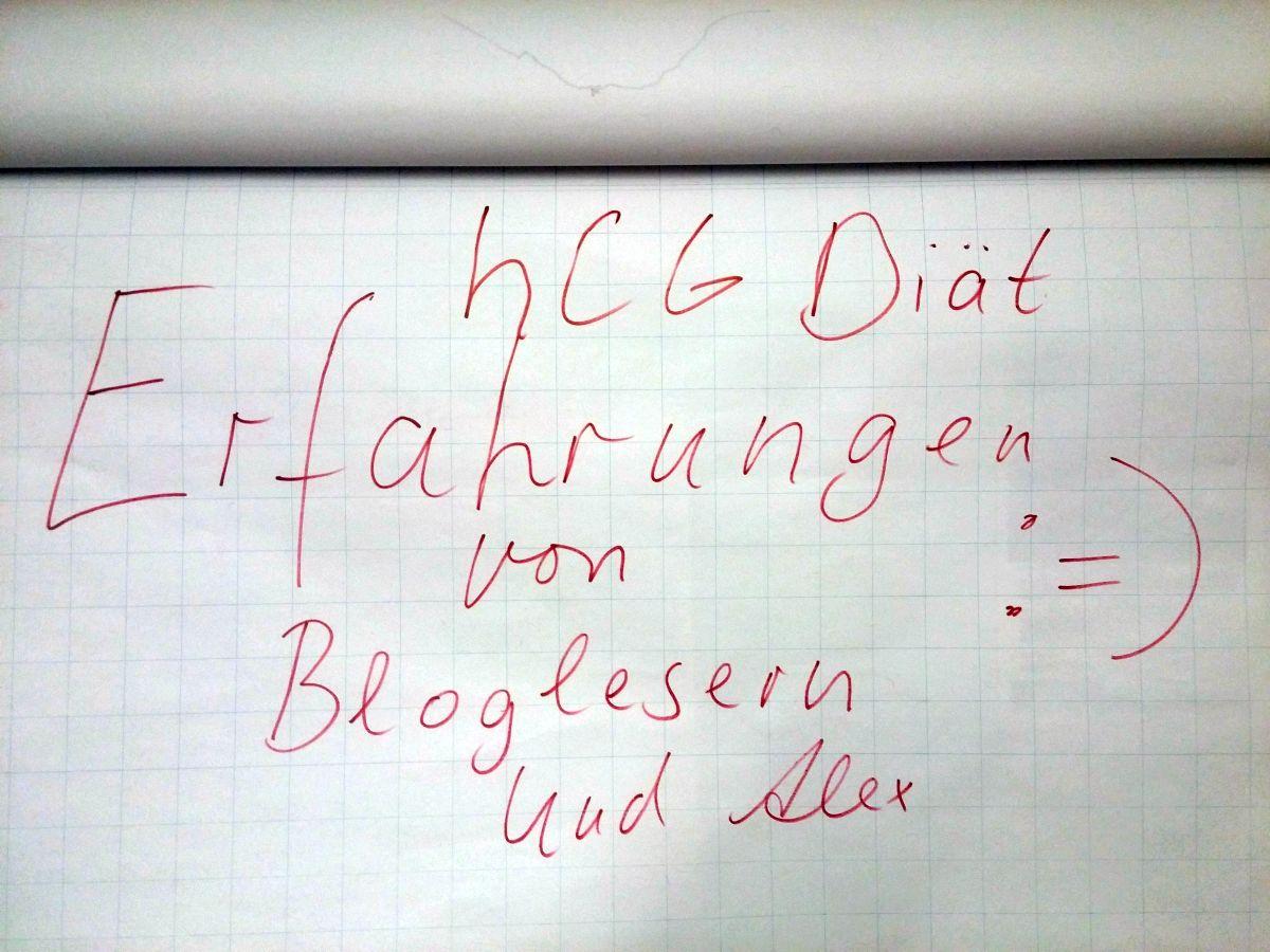 hCG Diät Erfahrungen meiner Blogleser