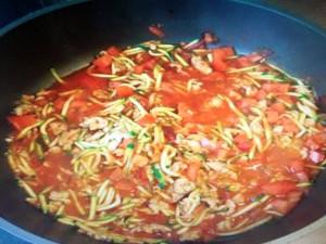 zucchini spaghetti hcg rezept ab phase 1 hcg di t buch. Black Bedroom Furniture Sets. Home Design Ideas
